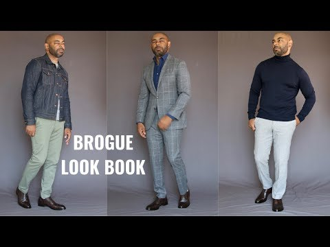 How To Wear Brogue Dress Shoe Featuring Beckett Simonon/How To Style Brogues