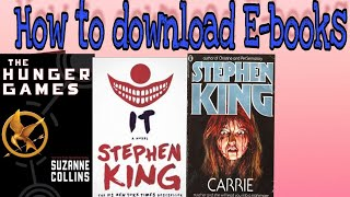 Download lagu How to download free ebooks (android)
