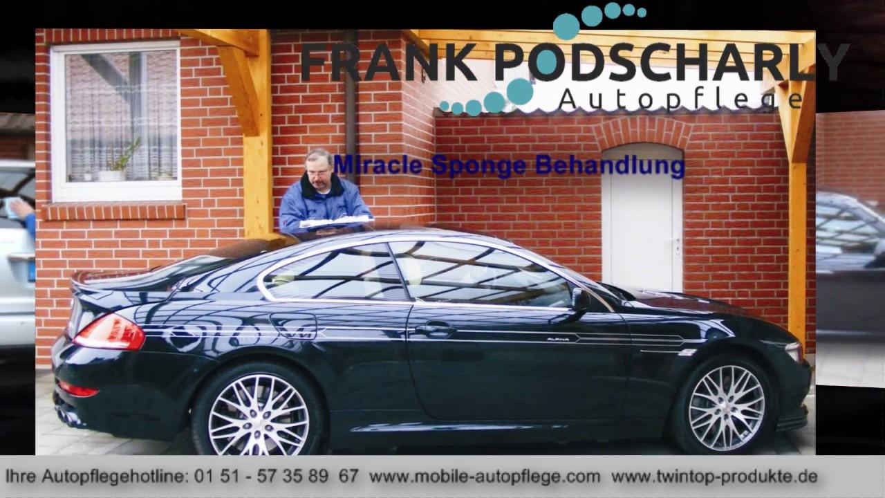frank podscharly autopflege nanoversiegelung autowaschen ohne wasser youtube. Black Bedroom Furniture Sets. Home Design Ideas