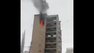 В Салавате загорелась квартира с тремя детьми | Ufa1.RU