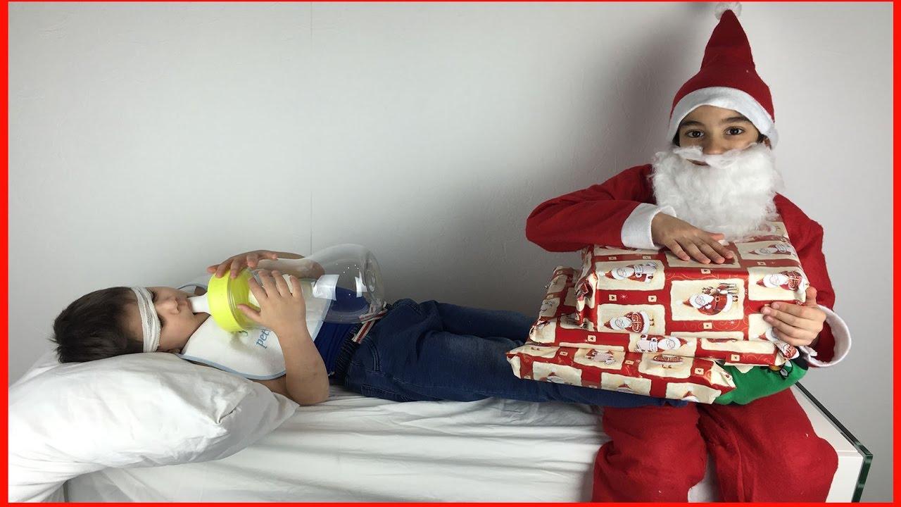 La Visite Du Père Noël Au Petit Bébé 🎁