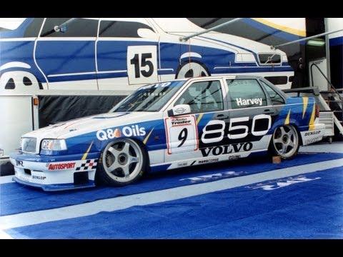 volvo motorsport 850 racing vs bmw [crash] superstars race weekend