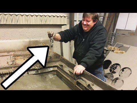 Waterjet Tank Cleaning Mystery Objects - Waterjet Channel - Interesting