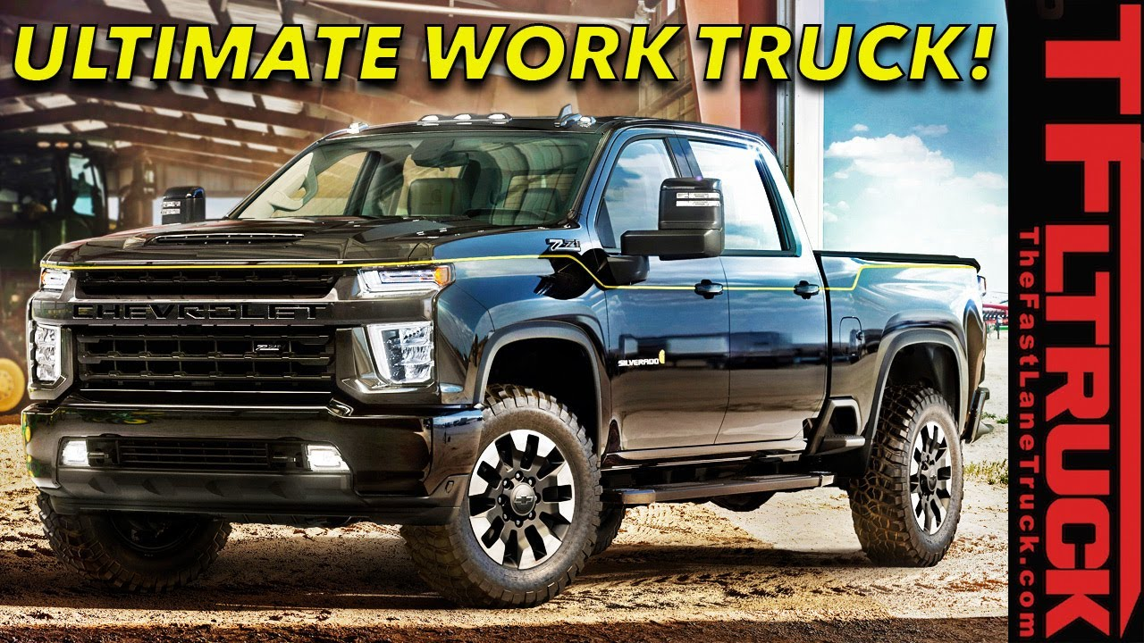 This 2021 Chevy Silverado HD 2500 Carhartt Special Edition ...