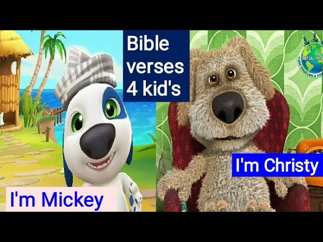 Bible verses for kid's to learn | Bible verses animation video's | Bible verses for children 2020