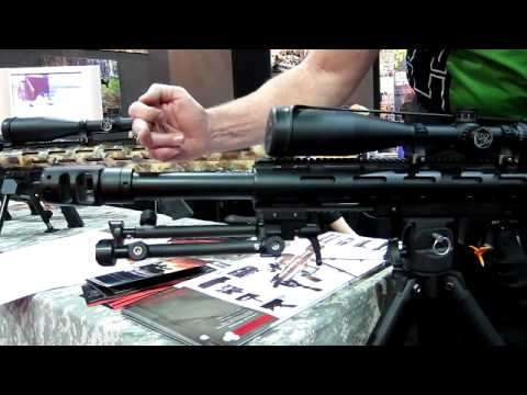 Shot Show 2011 Exclusive Lar Grizzly T50 Rifle In 50bmg Cal Youtube