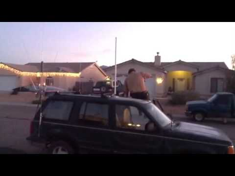 K7mch home brew 6meter mobile antenna - YouTube