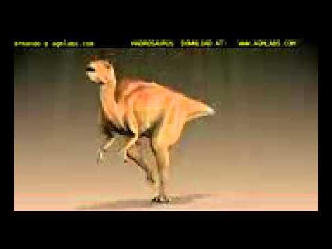 Hadrosaurio animación
