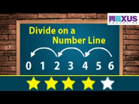 Learn Division: Divide on a Number Line