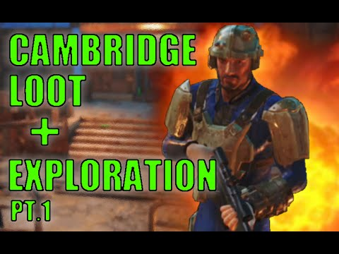 Fallout 4 Survival - Cambridge Exploration, Loot, and Locations