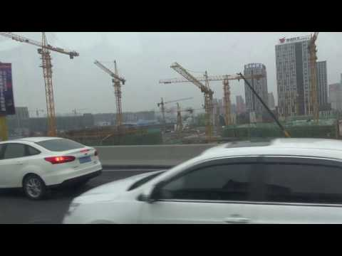 Drive along Shanghai''s elevated highways (2)