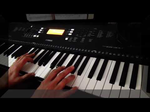 Feelings - Morris Albert - синтезатор Yamaha PSR-EW300  piano