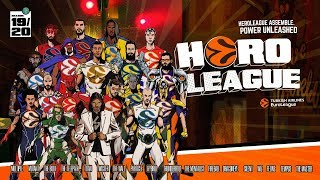 Turkish Airlines EuroLeague stars assemble for special HeroLeague mission!