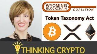 Interview: Caitlin Long Cofounder of Wyoming Blockchain Coalition - 13 Bills - Token Taxonomy Act