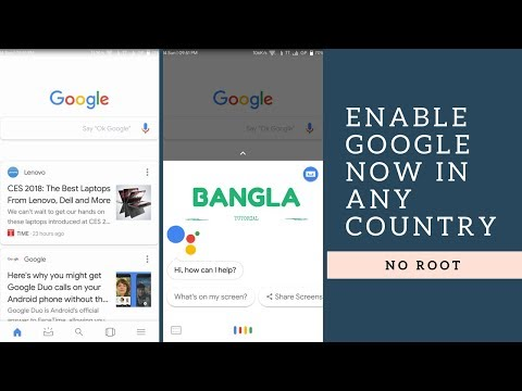How to enable Google Now in any country! [NO ROOT]