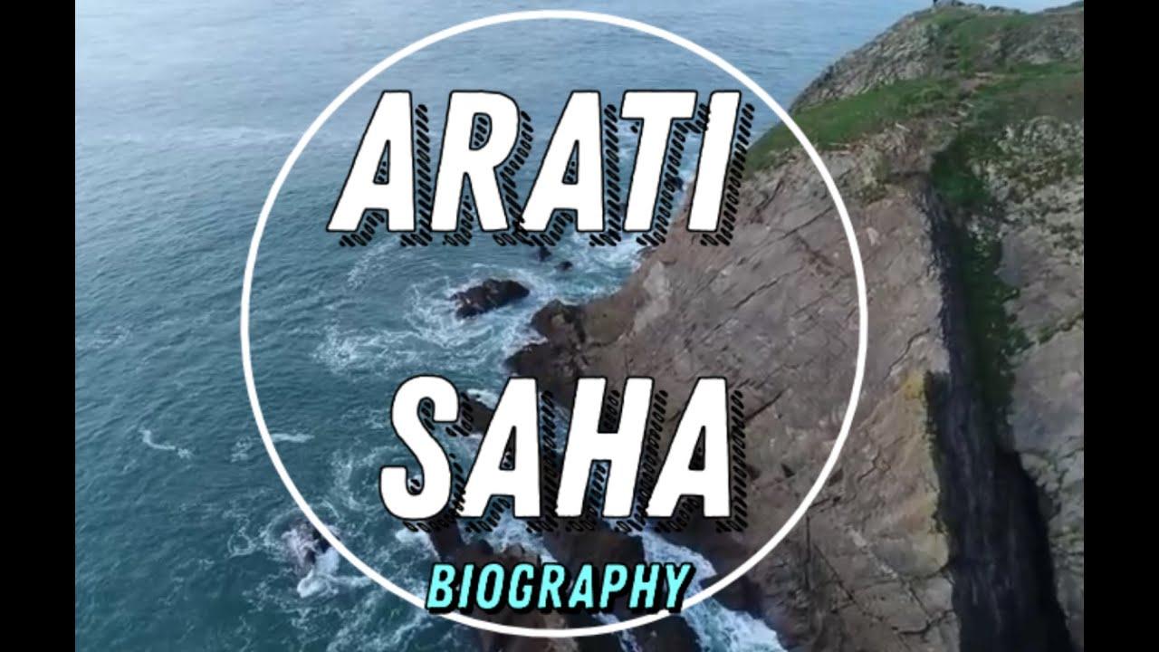 Arati Saha (आरती साहा) Biography - First Asian Woman to Swim Across English  Channel - YouTube