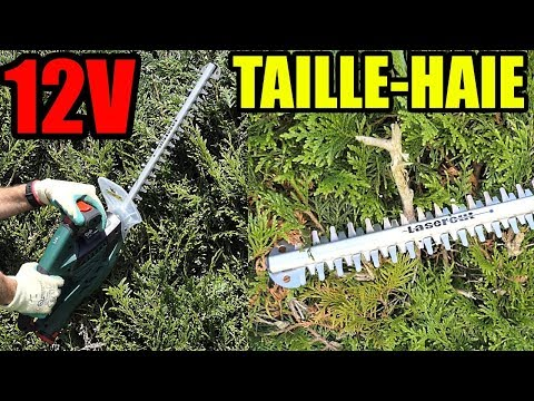 PARKSIDE Taille-haie 12v X12VTEAM PHSA 12 A1 Cordless Hedge Trimmer Akku-Heckenschere