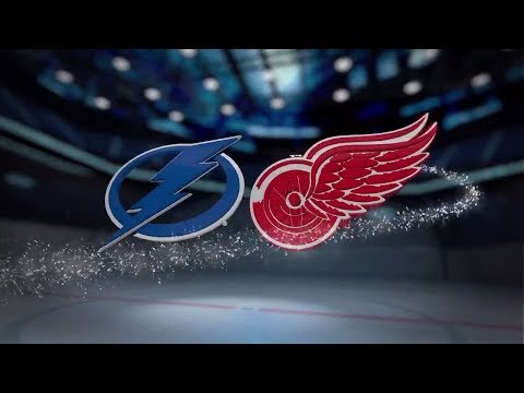 Tampa Bay Lightning vs Detroit Red Wings - October 16, 2017 | Game Highlights | NHL 2017/18. Обзор.