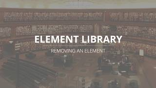 LutraCAD - Insole - Delete Element From Library