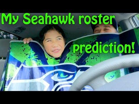 Seahawks pre-season is over, here