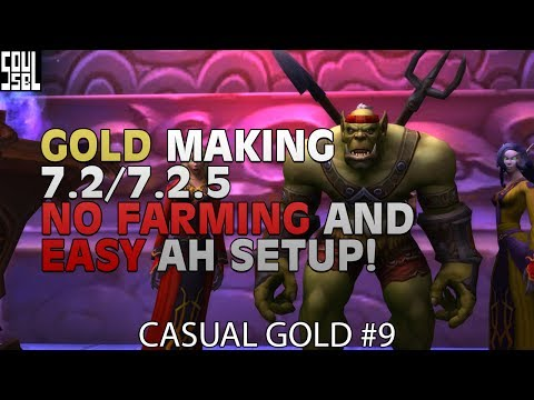 5 steps to 150K+ gold a month without farming and TSM tutorial on easy posting! - Casual Gold #9