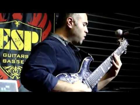 "NAMM 2015 - JAVIER REYES - ESP GUITAR COMPANY (Performs ""Ka$kade"")"