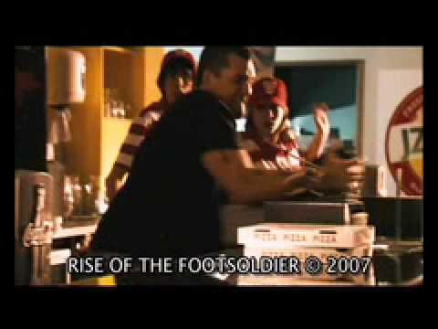 RISE OF THE FOOTSOLDIER - Smashing up Pizza Parlour with Pat