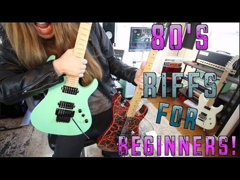 Easy 80's Riffs For Beginners!