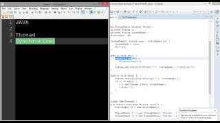 Java Thread Synchronized and Daemon