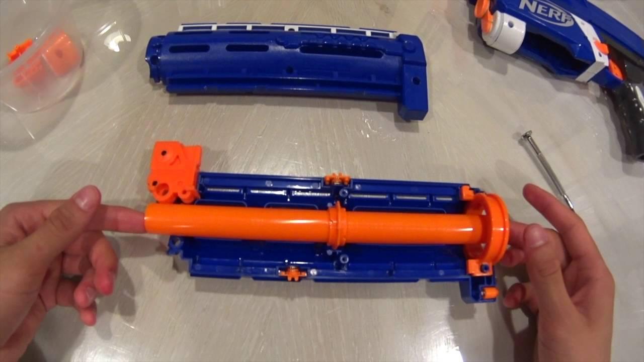 Nerf MOD Guide- Retaliator Barrel MOD