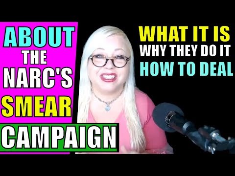 Narcissist Smear Campaign: Everything You Need to Know