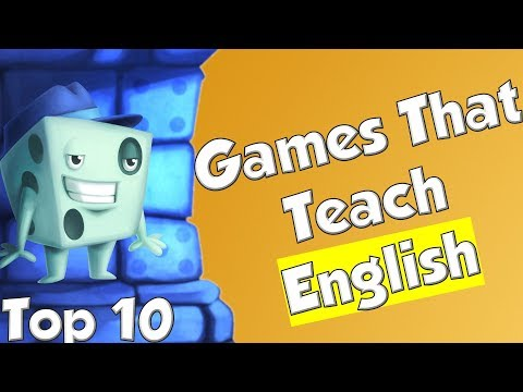 Top 10 Games That Teach English