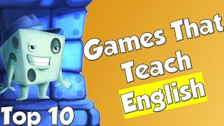 Top 10 Games That Teach English