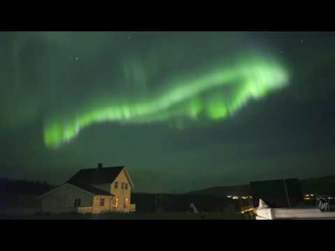 GEOMAGNETIC STORM - Oct. 13-14th 2018 - REAL-TIME HD