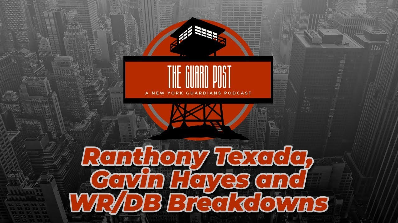 The Guard Post | RB/LB Breakdowns and Guest Jackson Connor