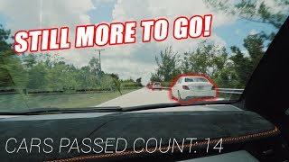 *WORLD RECORD SET* MOST CARS PASSED IN THE ONCOMING LANE AT ONCE!