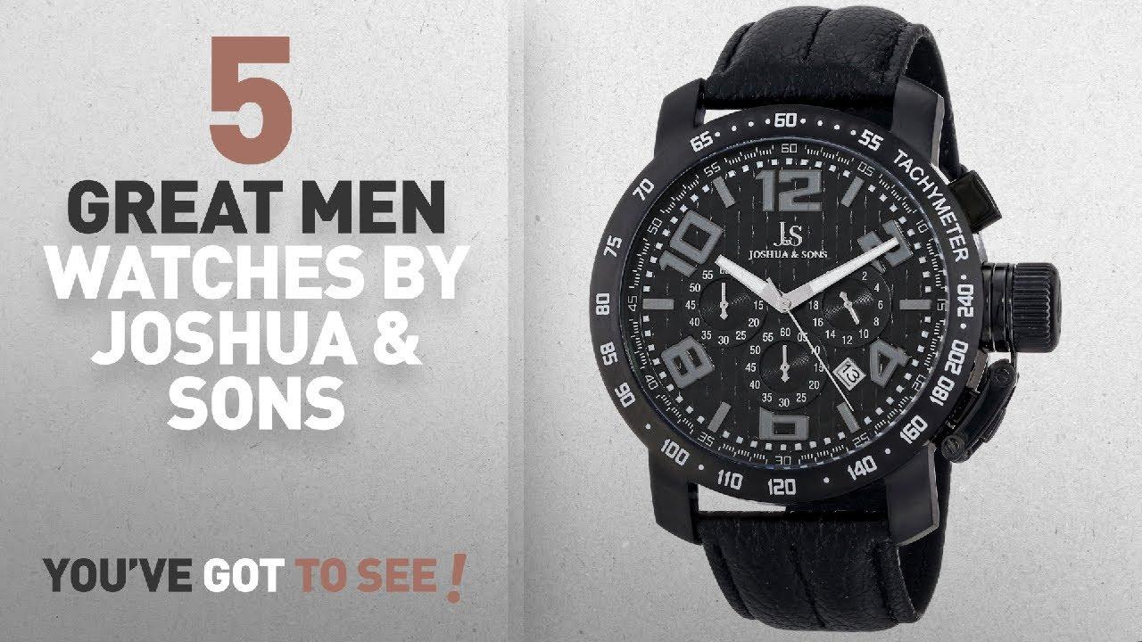 a25bb4ca4 Top 10 Joshua & Sons Men Watches [ Winter 2018 ]: Joshua & Sons ...
