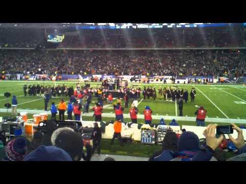 Tedy Bruschi Half Time Show Patiots vs Jets Monday Night Football