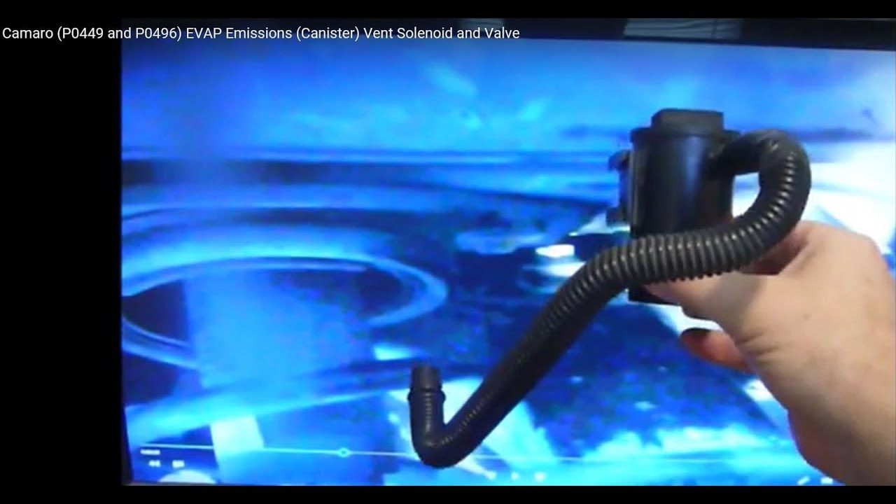 Camaro (P0449 and P0496) EVAP Emissions (Canister) Vent Solenoid and Valve