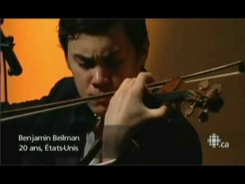 Benjamin Beilman - Sibelius Violin Concerto - 1st Movement