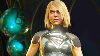 Injustice 2 PC - All Super Moves on Supergirl Phantom Zone Costume 4K Ultra HD Gameplay