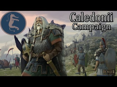 Caledonii Campaign Ep 2 - Total War Rome 2 Empire Divided playthrough