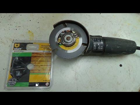 Utilisation du disque Graff speedcutter