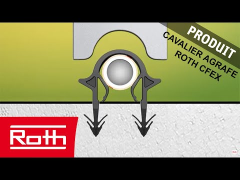 Cavalier agrafe roth cfex youtube - Plancher chauffant roth ...