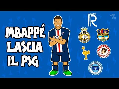 Kylian Mbappé LASCIA il PSG! ► OneFootball x 442oons