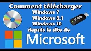 Télécharger tous les ISO de Windows depuis le site de Microsoft