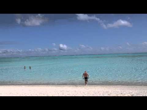 Polynésie française Bora Bora Plage publique  / French Polynesia Bora Bora Public beach