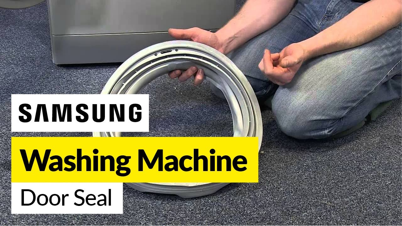 How To Replace A Samsung Washing Machine Door Seal Youtube