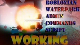 Roblox Admin Script Robloxian Waterpark | 🔥Working🔥
