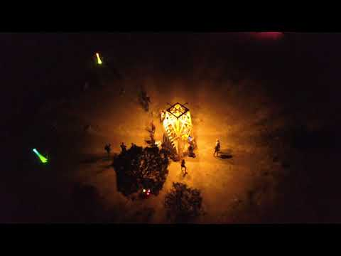 Boom Festival 2018 - Night Aerial Views (Extended)